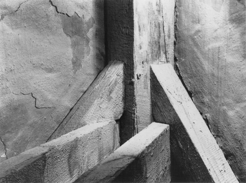 Dieter Appelt, Planche 5 de la série Bethanien, 1984-1991, épreuve argentique à la gélatine. Collection Centre Canadien d'Architecture Engagement de don. © Dieter Appelt