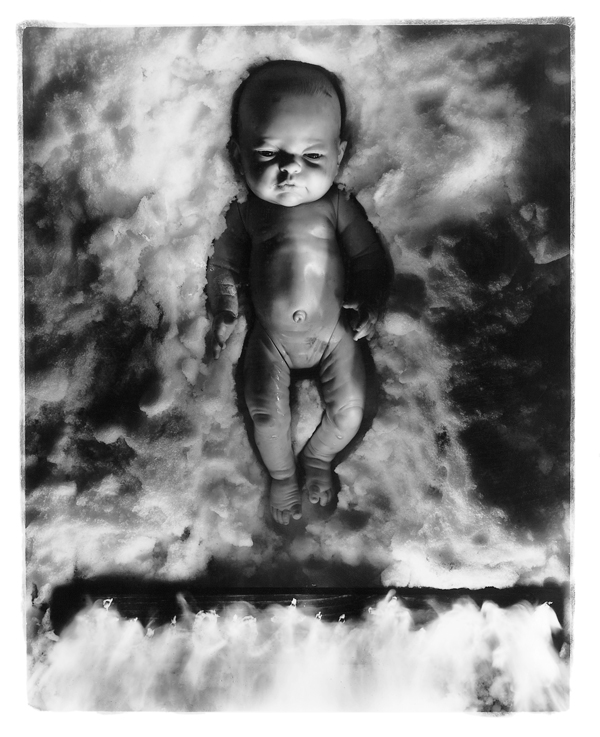 Diana Thorneycroft, On the Skin of a Doll (Infant Doll of Fire), 1996. © Diana Thorneycroft