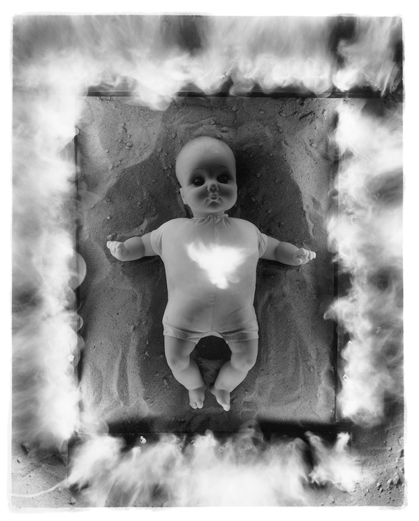 Diana Thorneycroft, On the Skin of a Doll (Baby Jesus Doll), 1996. © Diana Thorneycroft