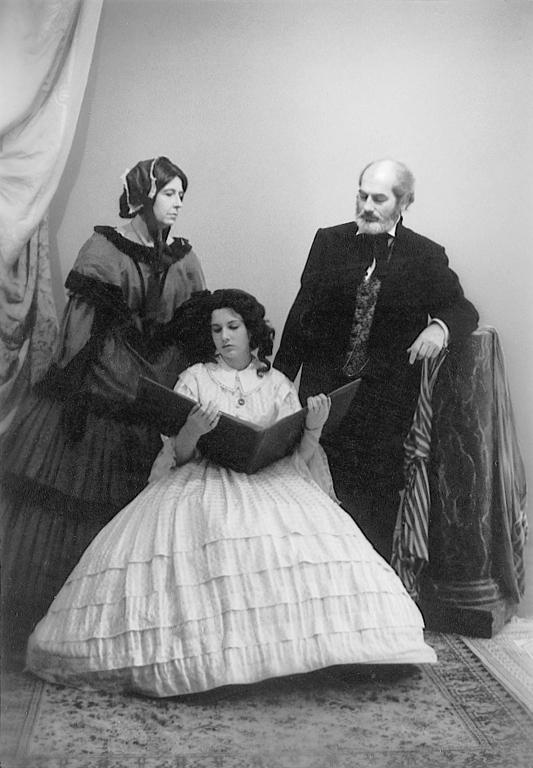 P.M. Hoblargan, La Famille von C . C ., 1839, 1989. © P.M. Hoblargan