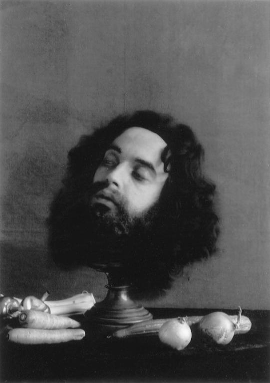 P. M. Hoblargan, Holopherne, 1988, éléments de la série Premier album, 1855-1885. © P. M. Hoblargan