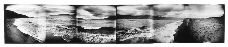 Dolores Baswick, Sans titre, de la série The Transitional Place, épreuve argentique, 99 x 390 cm, 1996. © Dolores Baswick