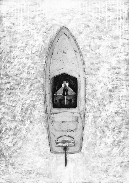 Allan Edgar, La Moindre Résistance, épreuve argentique, virage sélectif, 137 x 96 cm, 1996. © Allan Edgar