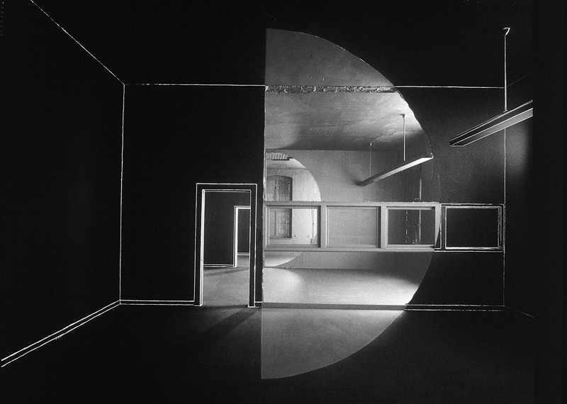 Georges Rousse, Oberhausen, 1997. © Georges Rousse
