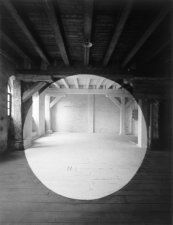 Georges Rousse, Metz, 1994. © Georges Rousse