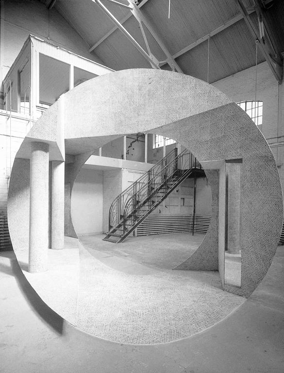 Georges Rousse, Montréal, 1997. © Georges Rousse