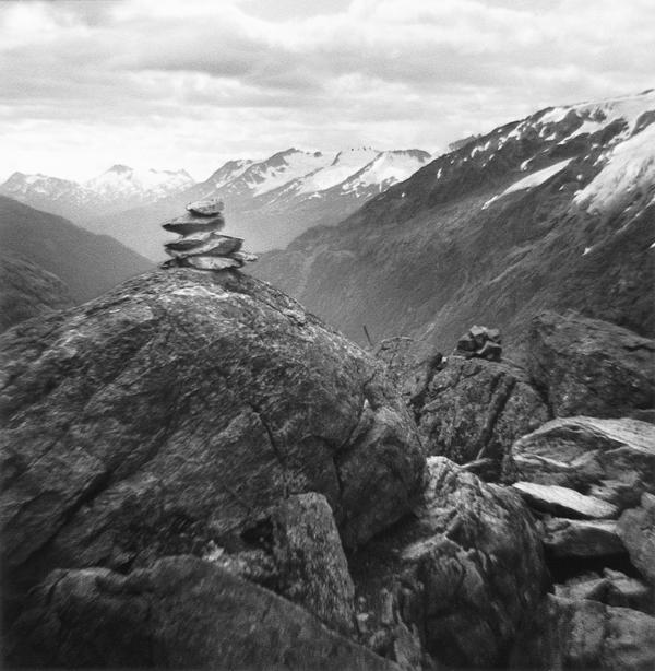 Eileen Leier, Chilkoot Trail, Alaskan side; Dawson City, Yukon,1997.© Eileen Leier.