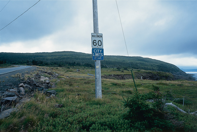 Marlene Creates, Elements of the series Entering and Leaving St. John's, Newfoundland, 1995. © Marlene Creates