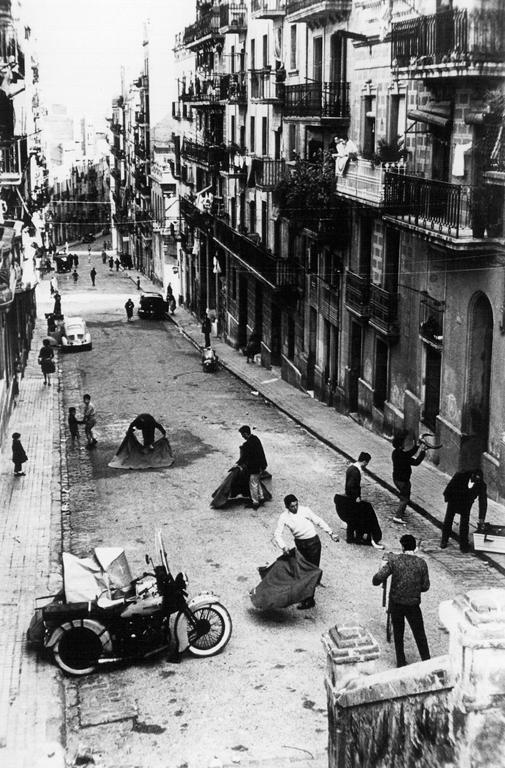 Oriol Maspons, Toreig de salo, Barcelona, 1962. © Oriol Maspons