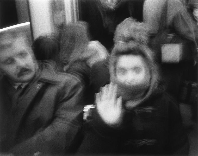 Yan Giguère, Sans titre (tiré de la série Portrait de la lune en camion), 1998. ©Yan Giguère