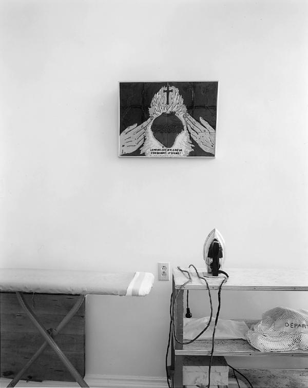 Clara Gutsche, Le Monastère des Sœurs Adoratrices du Précieux-Sang: une salle de travail, Nicolet, 1995. ©Clara Gutsche/SODRAC (2010)