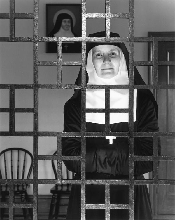 Clara Gutsche, Les Sœurs de la Visitation: le grand parloir, Ottawa, 1992. ©Clara Gutsche/SODRAC (2010)