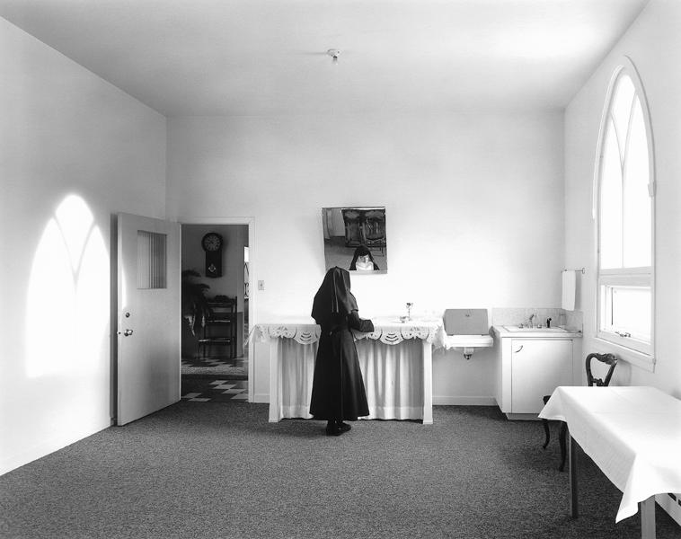 Clara Gutsche, Les Sœurs de la Visitation: la sacristie, La Pocatière, 1991. ©Clara Gutsche/SODRAC (2010)