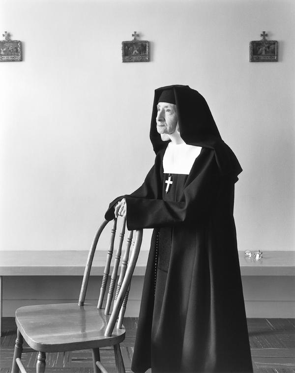 Clara Gutsche, Les Sœurs de la Visitation: la salle du chapitre, La Pocatière, 1991. ©Clara Gutsche/SODRAC (2010)