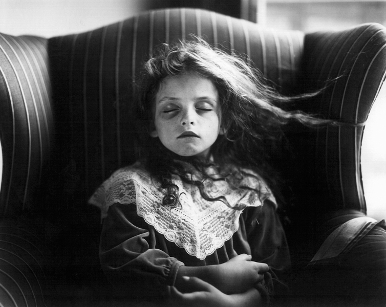 "Sally Mann, Black Eye, 1991, épreuve argentique, 20"" x 24"", Courtoisie : Houk Gallery, NY. © Sally Mann"