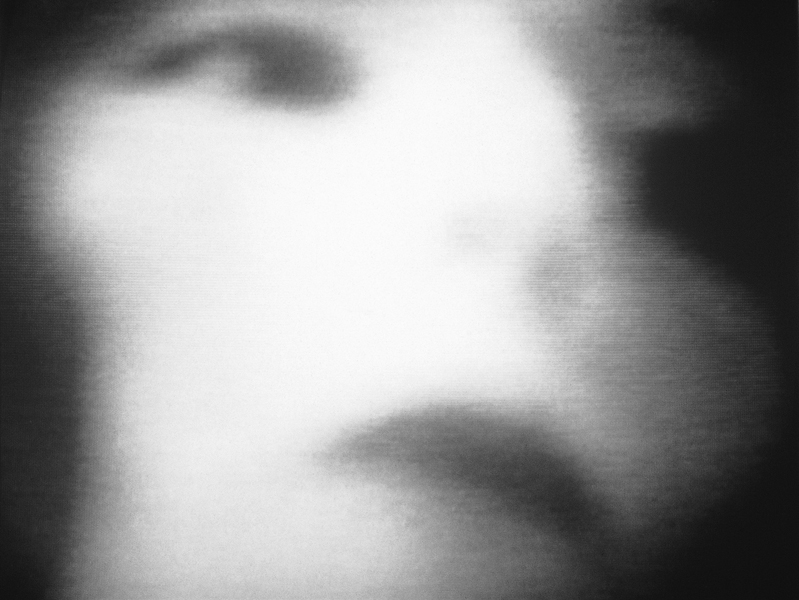 Ariane Thézé, Les Lourdes Portes de l'oubli, 1997, épreuve argentique, 79 cm x 79 cm. ©Ariane Thézé