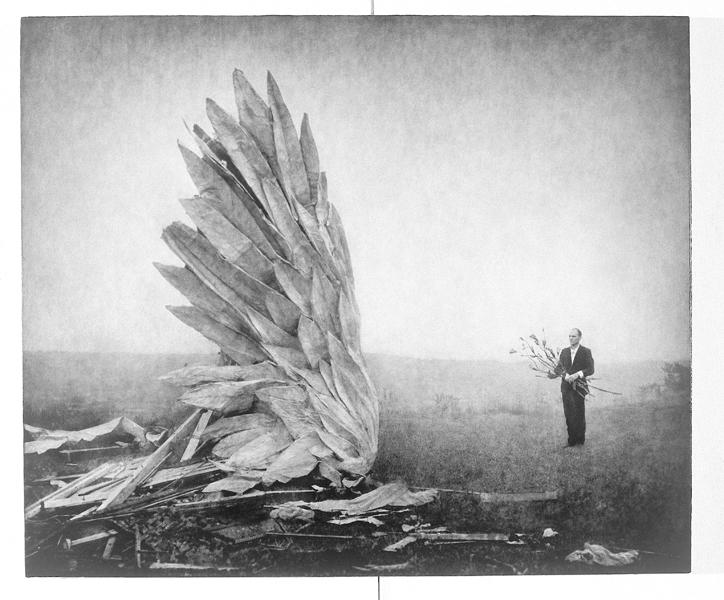 Robert ParkeHarrison, The Visitation I, 95,8 x 114,3 cm, épreuve argentique, média mixte, montée sur panneau, 1999. ©Robert ParkeHarrison