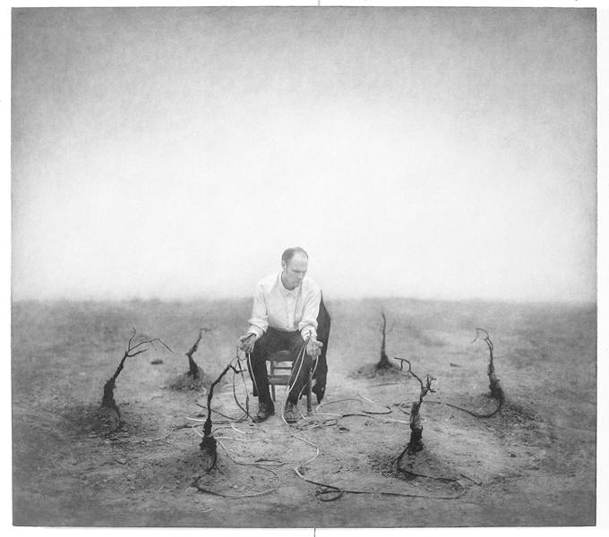 Robert ParkeHarrison, The Exchange, 102,9 x 118,7 cm, épreuve argentique, média mixte, montée sur panneau, 1999. ©Robert ParkeHarrison