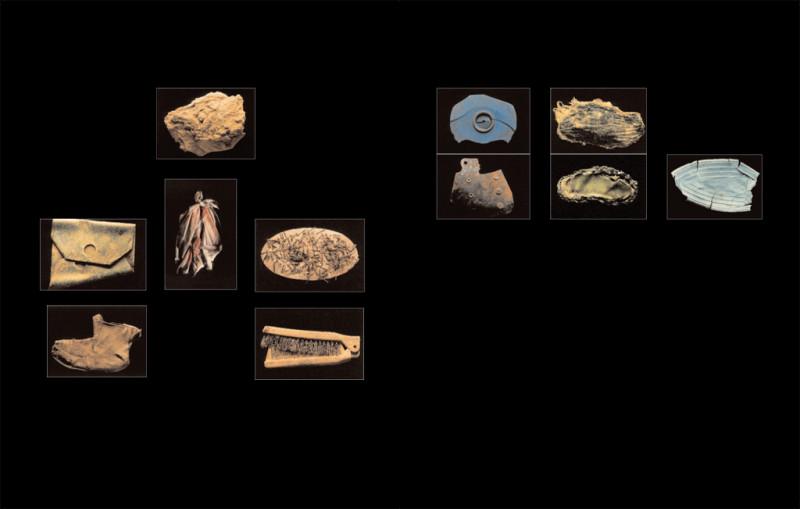 Robert Pelletier, Curiosité – Le Chercheur de trésor (séries I et 3), épreuves couleur, 27,5 x 37,5 cm (pour chacun des tirages), 1989. ©Robert Pelletier
