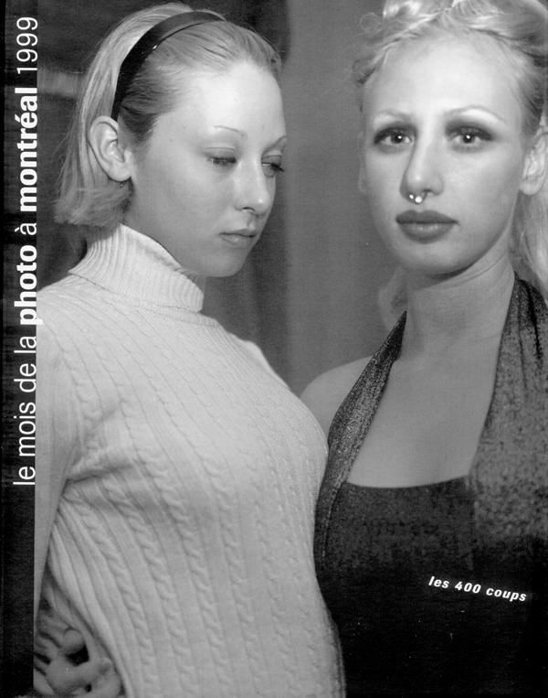 Le mois de la photo de montréal 1999, Le souci du document, sous la direction de Pierre Blache, Marie-Josée Jean et Anne-Marie Ninacs, publié par Vox, centre de la diffusion de la photographie et Les 400 coups, Montréal, 1999, 233 pages.