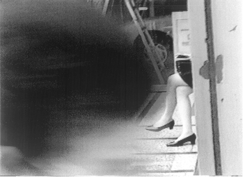 Wanda Koop, Video Scroll Poems (extraits) impressions thermiques 20X 15cm chacune 1996 Numérisation des images réalisée à Vancouver