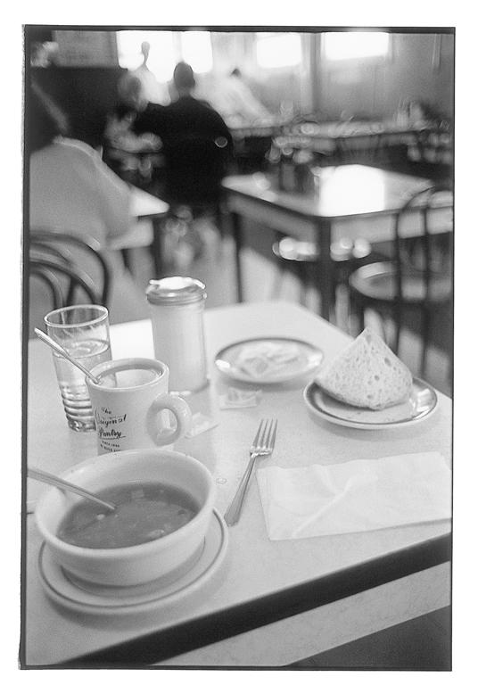 Alain Chagnon, De villes en déserts, élément d'une série de 62 épreuves argentiques, formats variables, 1998, © Alain Chagnon