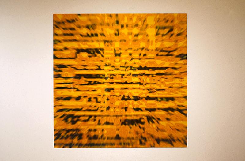 Nicolas Baier, L'appendice, 1997, l'autre et le courage, tirage photo monté sur acier galvanisé, 96 x 96 pouces. © Nicolas Baier