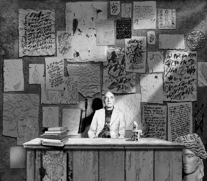 Rudd van Empel, The Office (élément d'une série), impression Iris sur papier Arches, 35 x 30.8 cm, 1996-1998. © Rudd van Empel