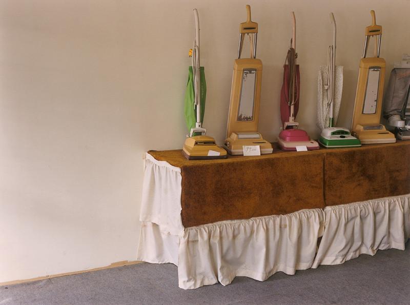 Howard Ursuliac, Untitled (six vacuums) The Store series Colour print 49 X 67 cm 1995