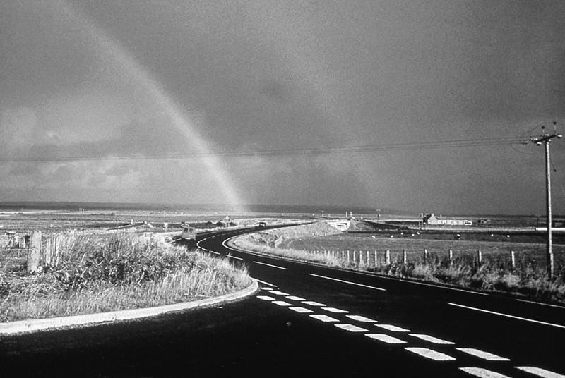 Marian Penner Bancroft, Route entre Wick et Thurso, Caithness, 2000, Galerie de l'UQAM. © Presentation House Gallery