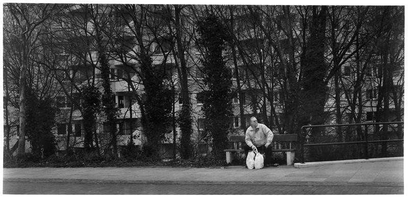 Patrick Faigenbaum, Karl-Kautsky-Straße, Neue Vahr, 1997, 1996 tirages au chlorobromure d'argent, 95 X 205 cm, 90.5 X 191.5 cm, 90 X 192 cm. © Patrick Faigenbaum