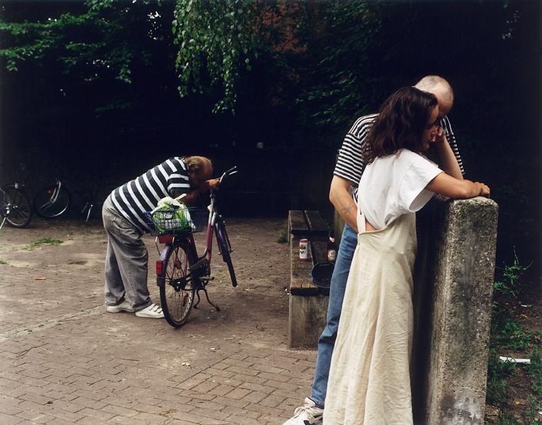 Patrick Faigenbaum, Im Park Oslebshausen, épreuve couleur, 84 X 107 cm, 1997. © Patrick Faigenbaum