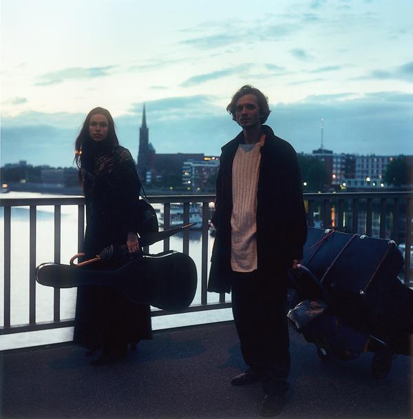 Patrick Faigenbaum, Auf der Bürgermeister-Smidt-Brücke, 1997, 110 X 110 cm , épreuves couleur. © Patrick Faigenbaum