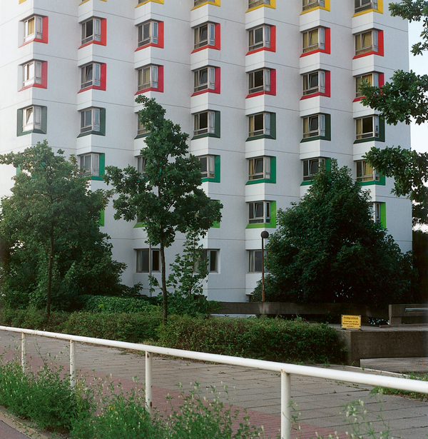 Patrick Faigenbaum, Friedrich-Rauer-Straße, 1997 épreuves couleur. © Patrick Faigenbaum
