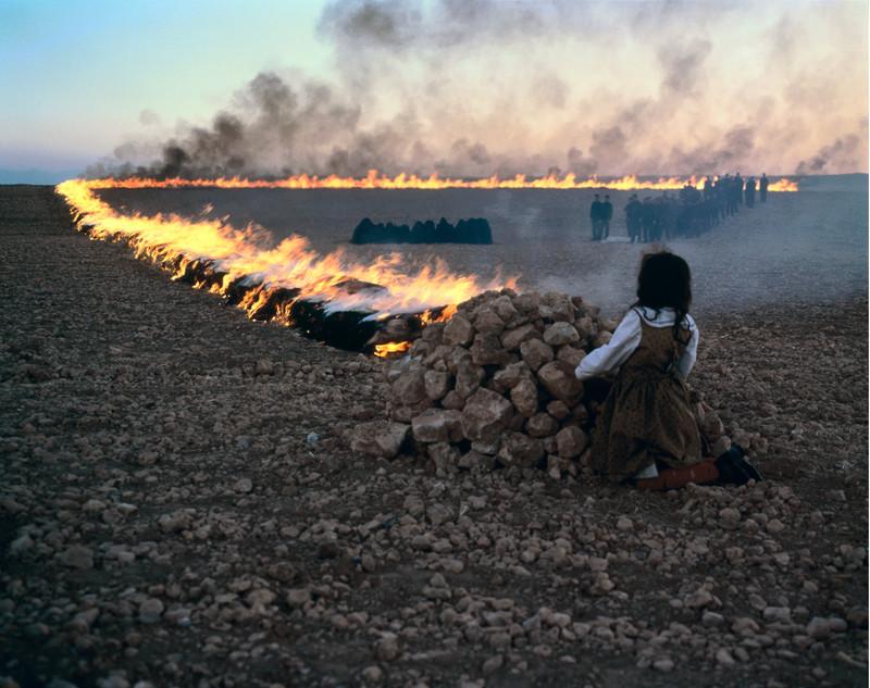 Shirin Neshat, Passage, 2001, production stills. ©Shirin Neshat / photo: Larry Barns, courtesy of Barbara Gladstone