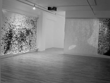 Marc Audette, Écran installation photo-vidéo, 2002. ©Marc Audette