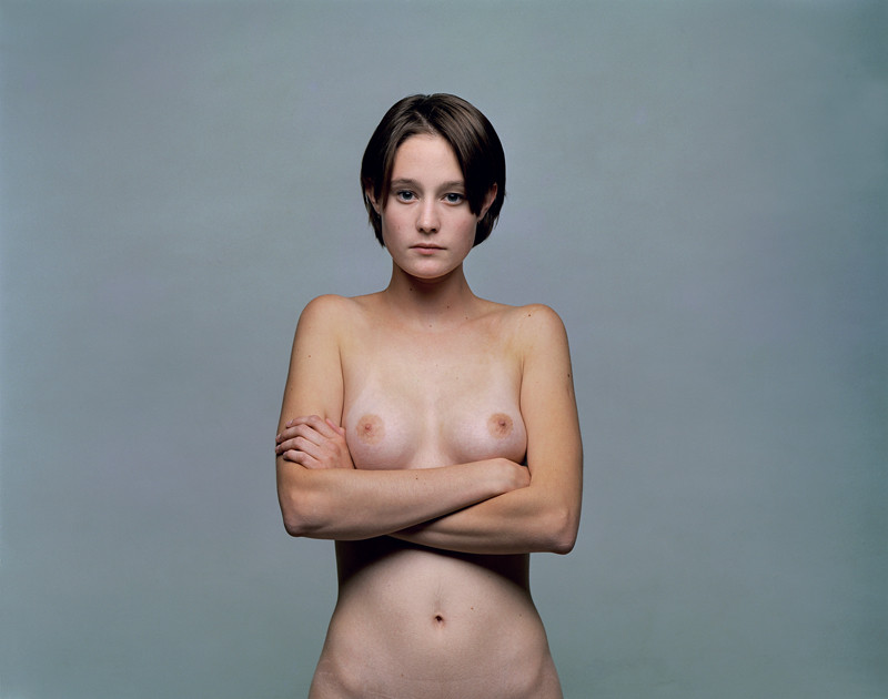 Olivier Christinat, Portraits et nus, deux séries de cinq exemplaires, épreuves couleur sur Fuji Cristal Archives, 50 x 60 cm et 80 x 100 cm, 1998-2001: Fanny II. ©Olivier Christinat