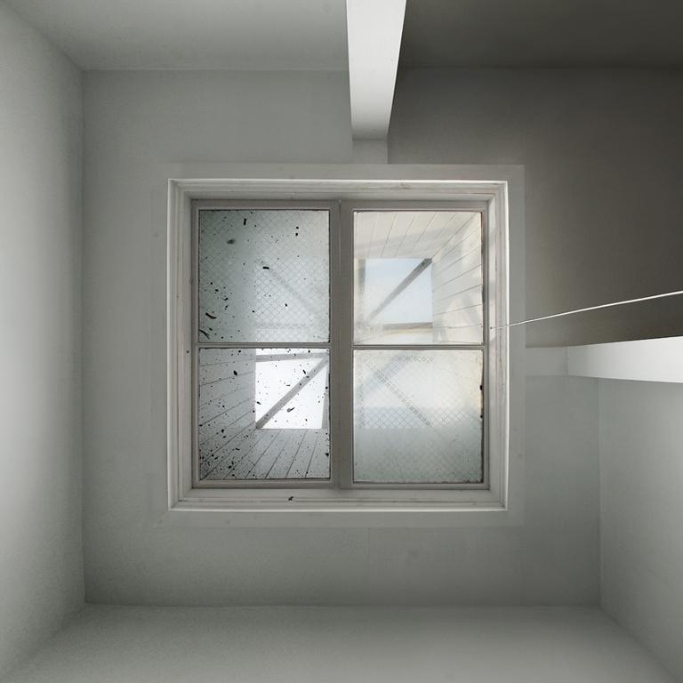 Alain Paiement, Parages / Cave-Iris, 2002, impressions à jet d'encre archive sur polypropylène, 108 x 108 cm. © Alain Paiement