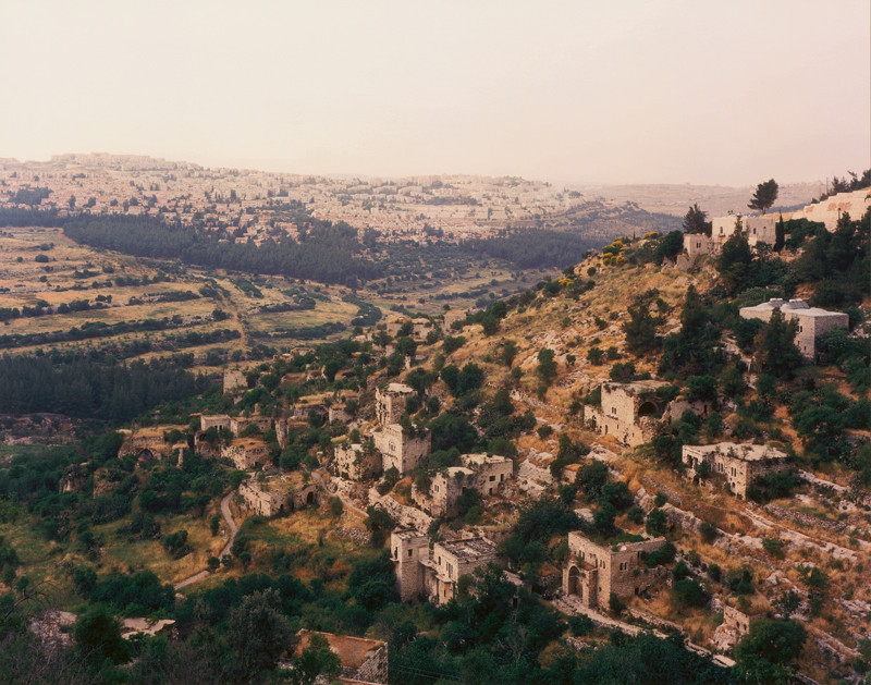 Arni Haraldsson, Lifta, West Jerusalem, , 1997-2000, colour print, 127 x 152.5 cm. © Arni Haraldsson