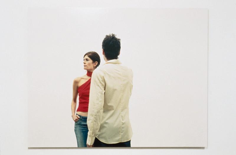 Geneviève Cadieux, Barcelone (détail), épreuve couleur, 122 x 170,2 cm, 2003. © Geneviève Cadieux