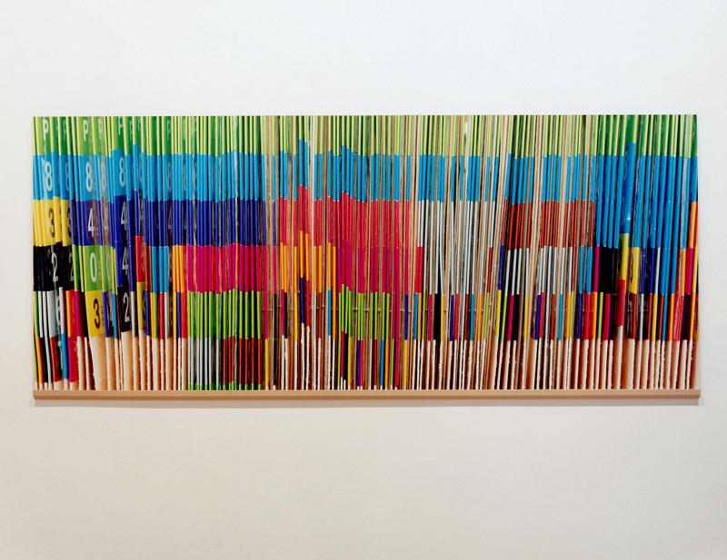 Vid Ingelevics, Sans titre, 2001, épreuve couleur, 75 x 210 cm. © Vid Ingelevics