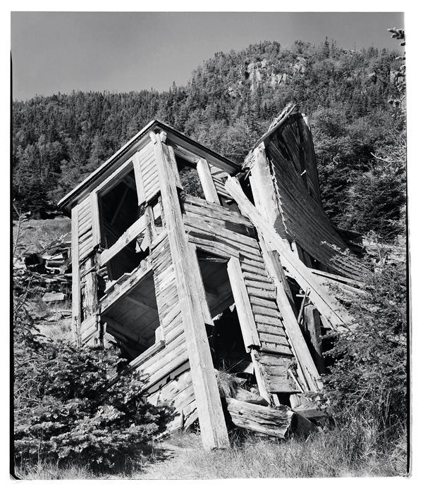 Scott Walden, No. 21, Kerley's Harbour, Trinity Bay, 1998, from Unsettled, silver print. © Scott Walden