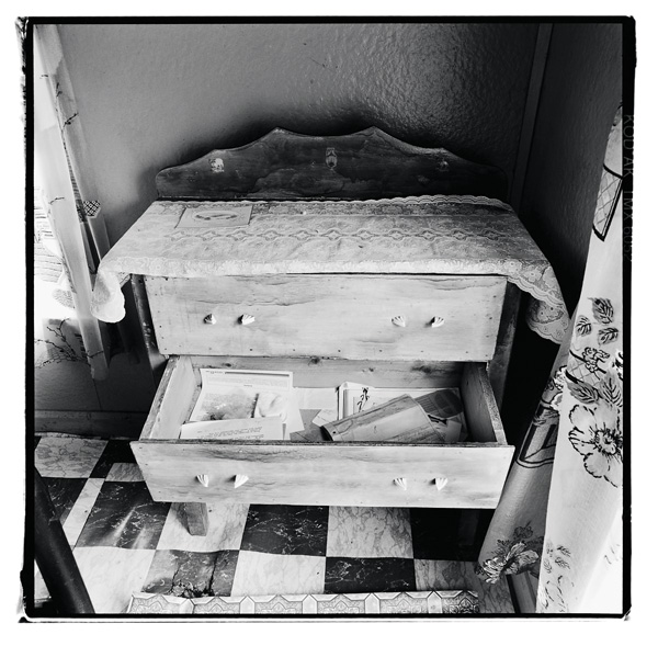 Scott Walden, no. 36, Indian Burying Place, Notre Dame Bay, 1998, from Unsettled, silver print. © Scott Walden