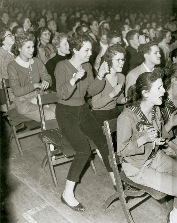 Inconnu: Elvis Presley Concert, 1957. © Tous droits réservés