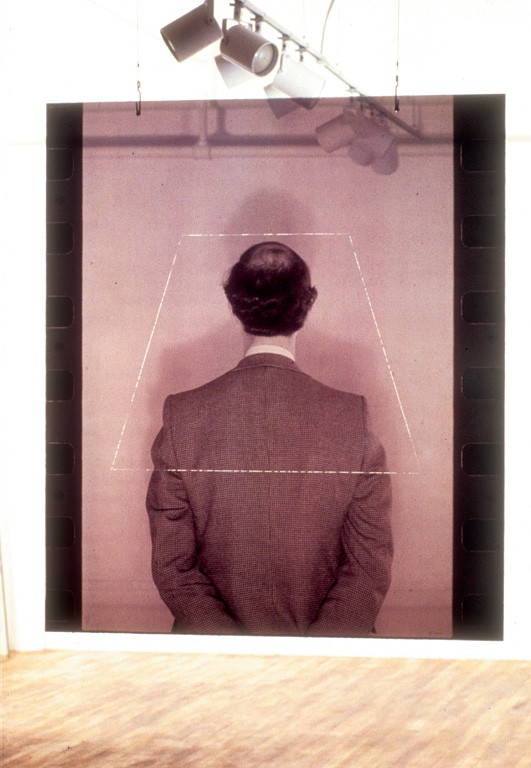 Michael Snow, Shade, b/w photograph on plexiglass, 1979, Canada Council Art Bank. © Tous droits reserves
