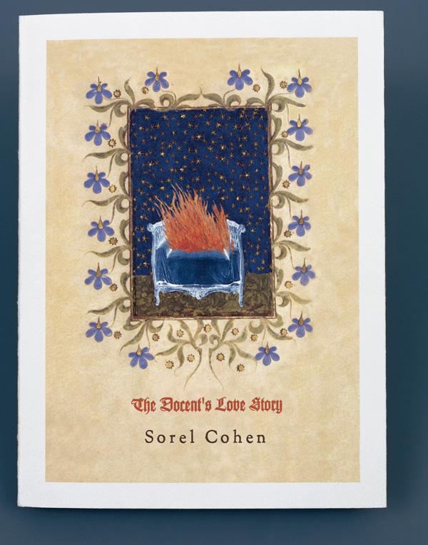 Sorel Cohen, The Docent's Love Story (détails), 1999, livre d'artiste en dix exemplaires, 19 x 14 cm. Photo: Richard-Max Tremblay. © Sorel Cohen/SODRAC (2010)