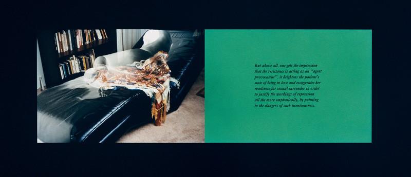 Sorel Cohen, The Body that Talks (une image entière et deux détails), 5 épreuves couleur, 76 x 102 cm , 1996. Photo: Denis Farley. © Sorel Cohen/SODRAC (2010)