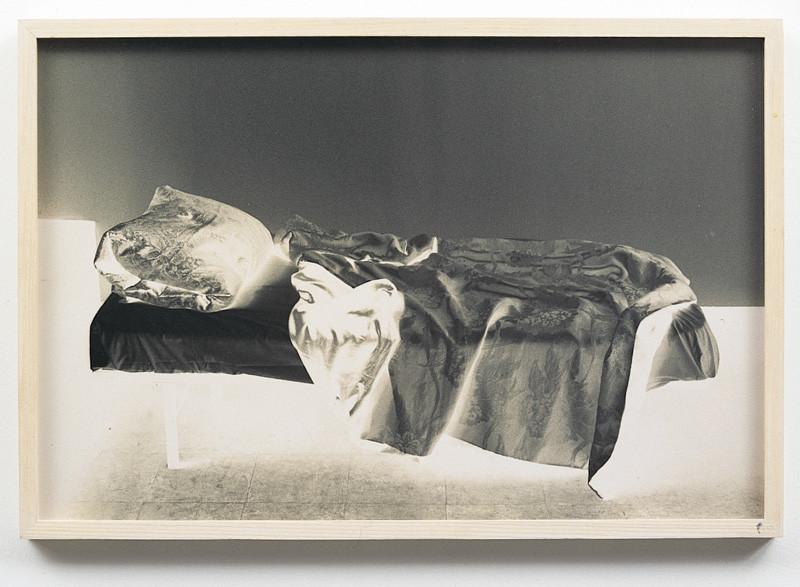 Sorel Cohen, The Bed of Want, 1992, 4 épreuves couleur, 36 x 50cm, collection du Musée d'art de Joliette. © Sorel Cohen/SODRAC (2010)