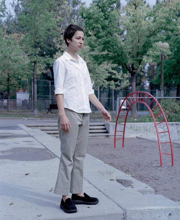 Pascal Grandmaison, Nancy (de la série Près des parcs), 1998, épreuves couleur, 146 x 119 cm, collection Prêt d'œuvres d'art du Musée national des beaux-arts du Québec. © Pascal Grandmaison