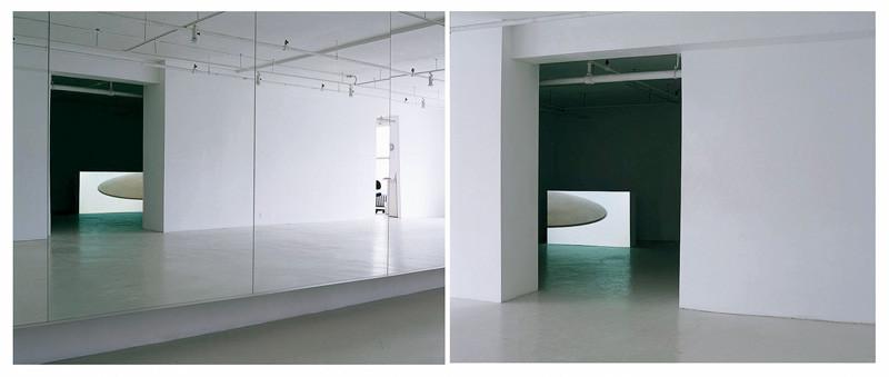 Pascal Grandmaison, Solo (vue partielle de deux salles de l'installation). © Pascal Grandmaison